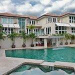 Mansions Pools Modern Style Water Fall Design Classic