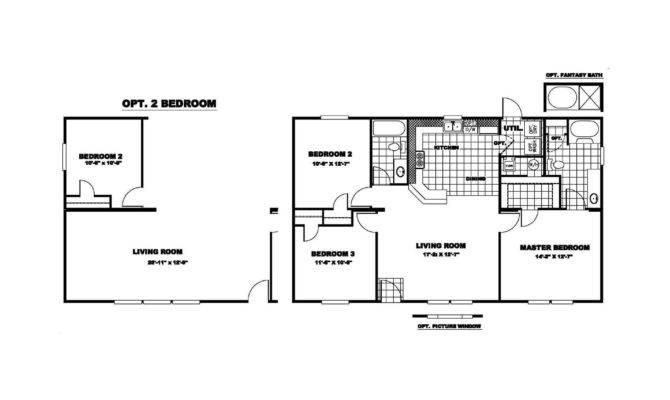 Manufactured Home Floor Plan Clayton Inspiration
