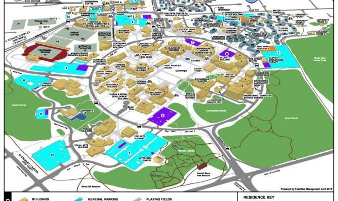 Maps Buildings Directions University Victoria