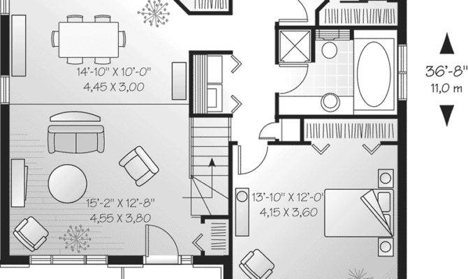 Marblemount Single Story Home Plan House Plans