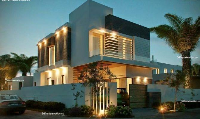 Marla Corner House Plan Front Elevation Design