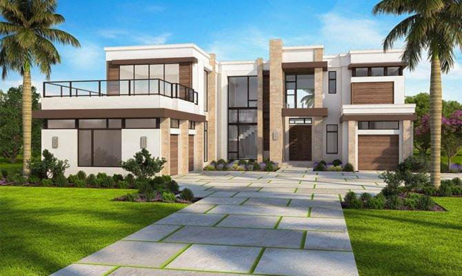Marvelous Contemporary House Plan Options