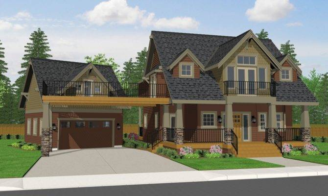 Marvelous Craftsman Style Homes Plans