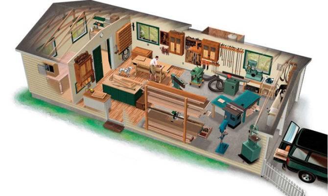 Marvelous Garage Workshop Design Woodworking