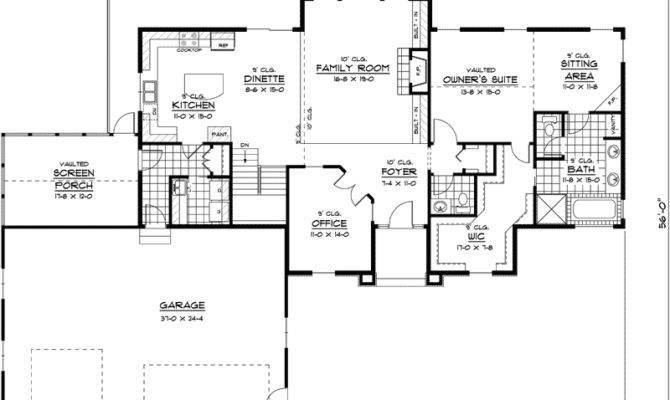 Marvelous Luxury Ranch Home Plans House