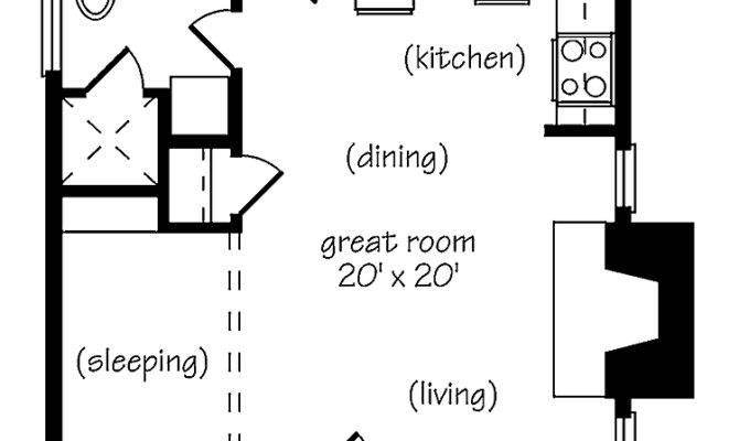 Marvelous Small One Bedroom House Plans