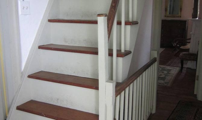 Mary Plantation House Upstairs Interior Stairs