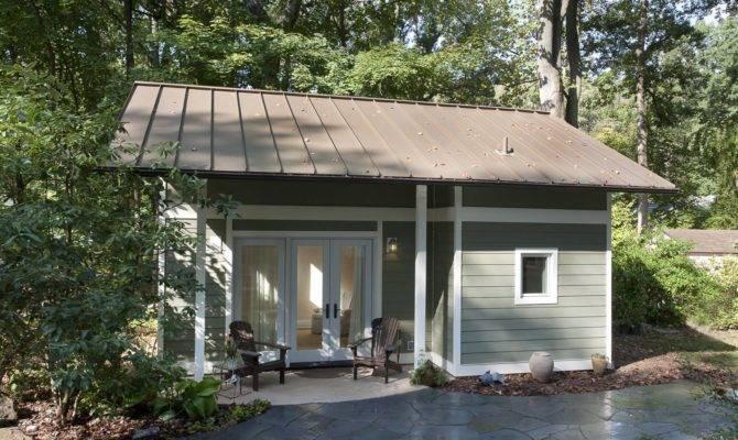 Maryland Cottage Used One Car Garage Tiny House Makeover
