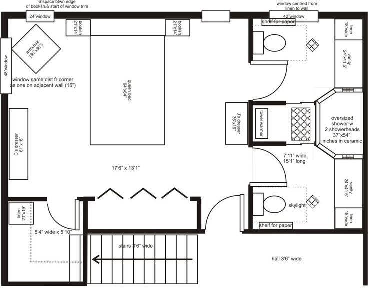 Master Bedroom Addition Floor Plans His