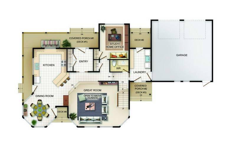 Master Bedroom Addition Floor Plans