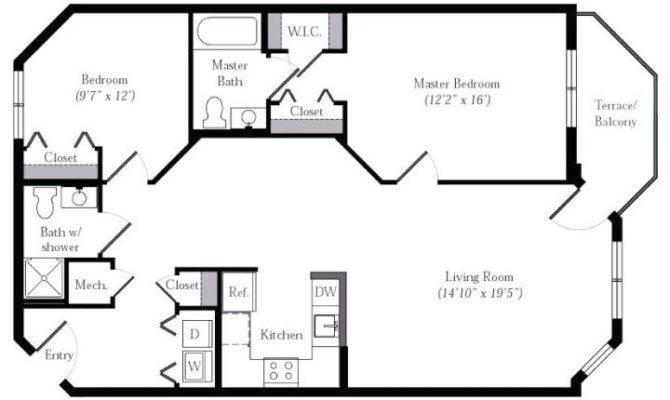 Master Bedroom Bathroom Closet Floor Plans Glif