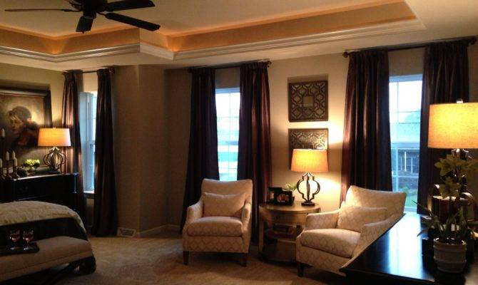 Master Bedroom Great Tray Ceiling Designs