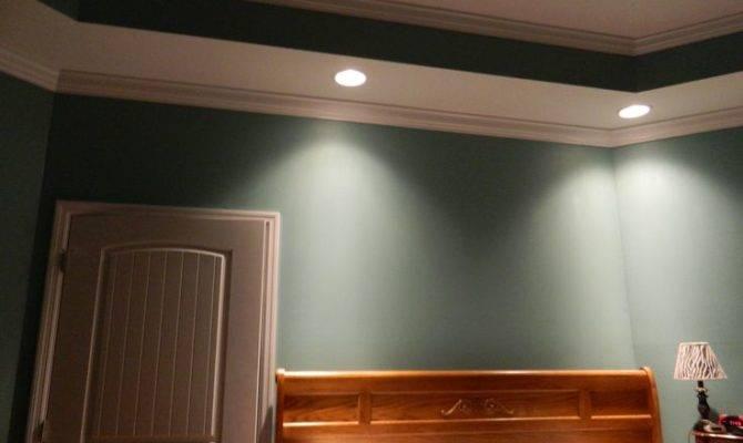 Master Bedroom Tray Ceiling Pinterest