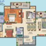 Maxblis White House Floor Plan Bhk