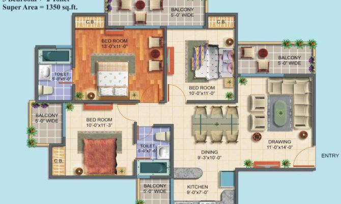 Maxblis White House Floor Plan Bhk Home Plans Blueprints 64549