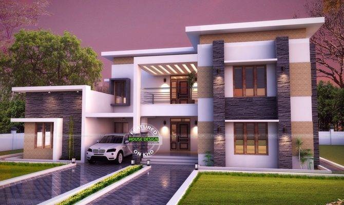 Flat Roof House Designs Ideas Home Plans Blueprints