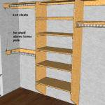 Mdf Closet Shelving Plans Furnitureplans