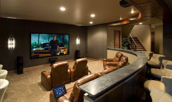 Media Rooms Theaters