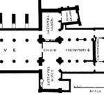 Medieval Cathedral Floor Plan Early Church Architecture
