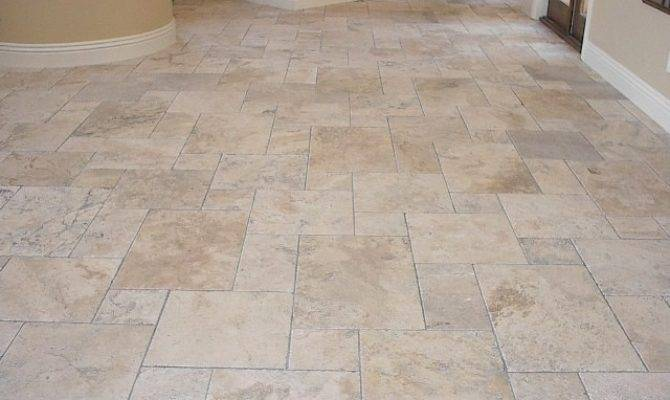 Mediterranean Floor Tile Travertine