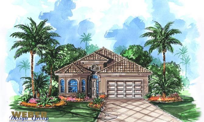 Mediterranean Home Design Catalina Plan Weber Group