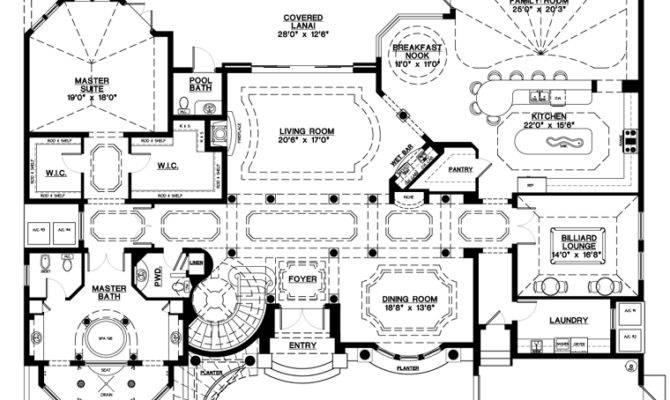 Mediterranean Home Plans Spanish Style House Design