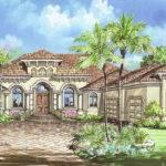 Mediterranean House Plan Story Floor