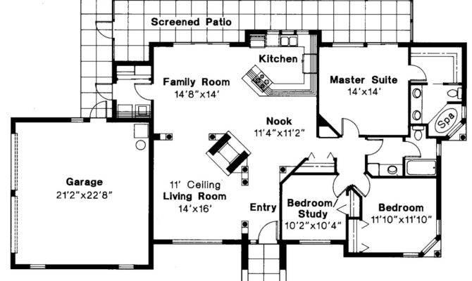 Mediterranean House Plans Carrizo Associated Designs