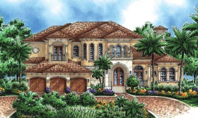 Mediterranean House Plans Pinterest