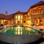 Mediterranean House Plans Pools