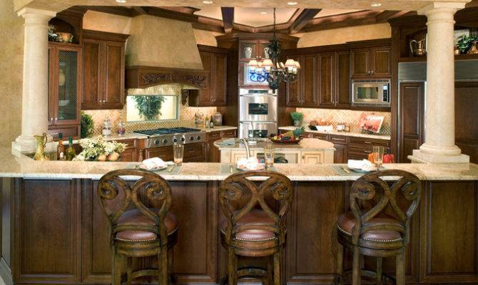 Mediterranean Kitchen Sater Design Collection Inc