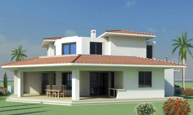 Mediterranean Modern Homes Exterior Designs Home Decor