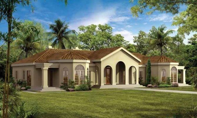 Mediterranean Modern House Plans Eplans