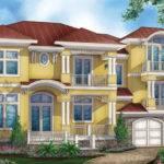 Mediterranean Modern Style House Plan Hwbdo