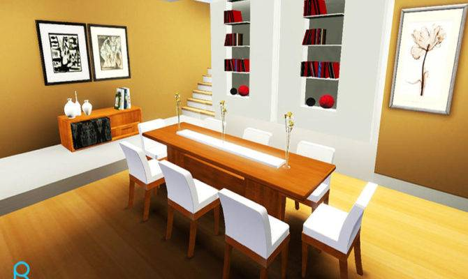 Memory Sonate Wooden Dining Room