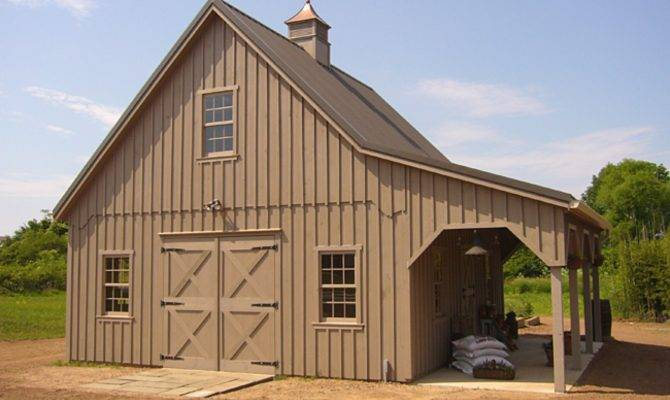 Metal Building Homes Loft Pole Barn