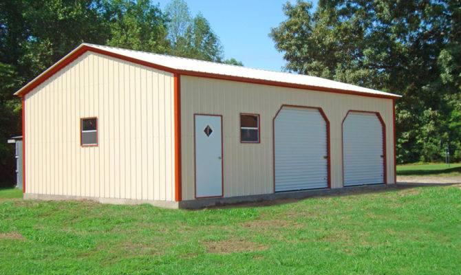 Metal Garages Steel Garage Prices Packages Georgia