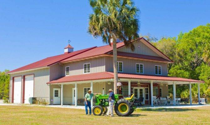 Metal Pole Barns Living Quarters Plans Joy Studio