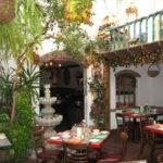 Mexican Courtyard Allows