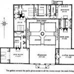 Mexican Hacienda Floor Plans Style House