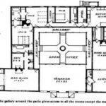 Mexican Style House Plans Courtyard Hacienda