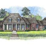 Michelle Country French Home Plans Louisiana House