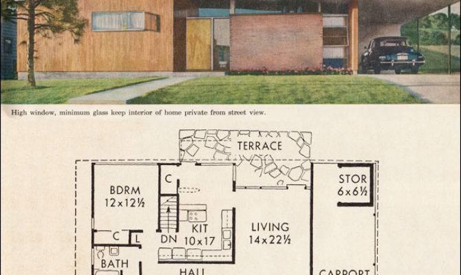 Mid Century California Modern House Plan Better Homes