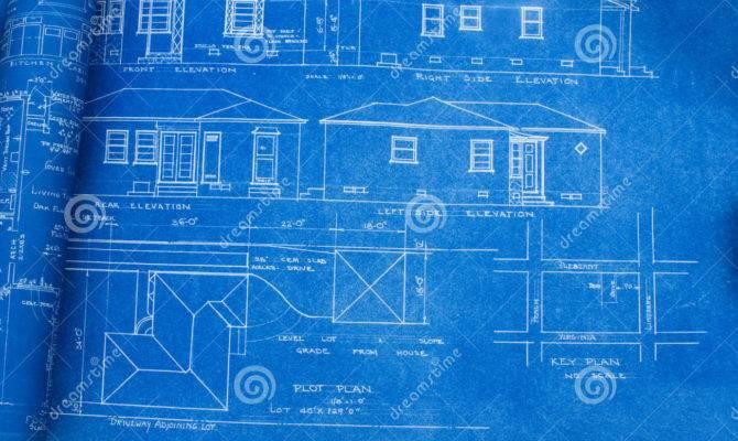 Mid Century Home Blueprint