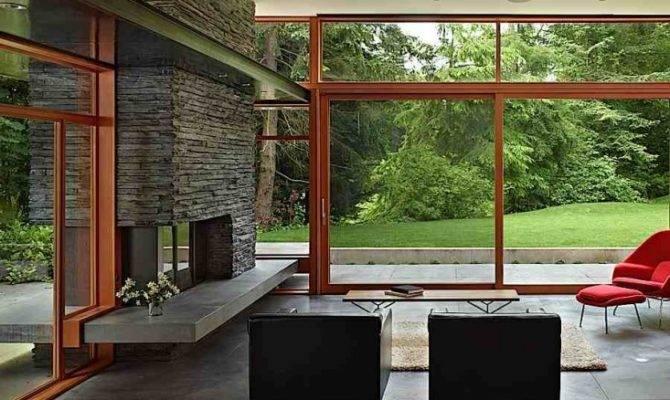 Mid Century Modern Design Values Bringing Nature