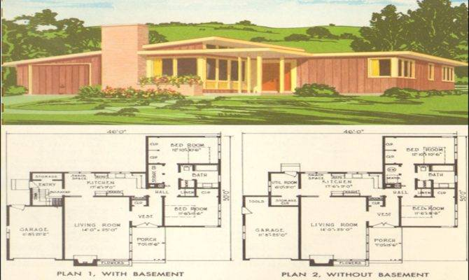 Mid Century Modern Home Design Plans Homemade Ftempo