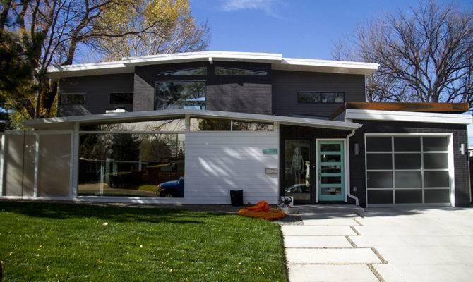 Mid Century Modern Homes Floor Plans Garage House