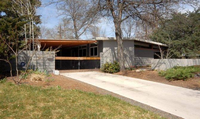 Mid Century Modern Ranch House Design Plan