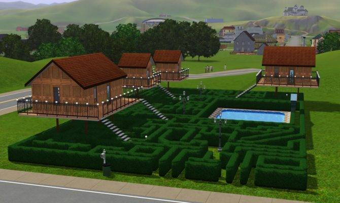 Mikey Hanson Sims Houses