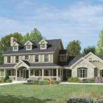 Milburn Manor Colonial House Plan Alp Chatham Design Group